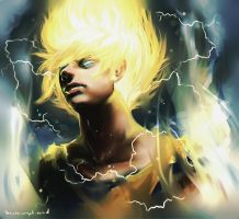 Dragon Ball Z - Light in the Darkness by swift-winged-soul