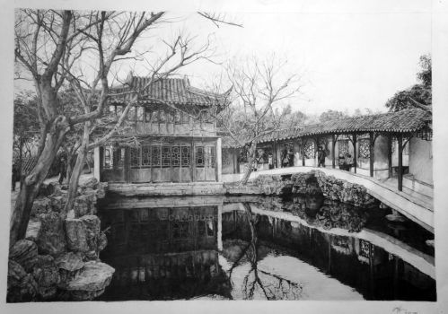 Pencil Rendering by CangDu