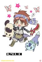 Rune Factory 2:Kyle n Monsters by Pikaspirit