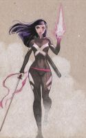 Psylocke for Trevor by MicahJGunnell