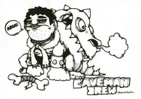 Caveman Drew by GalactikCaptain