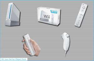 Wii Icon Set v.1 by AppleOfDiscord