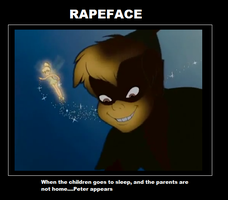 Peter Pan RAPE FACE by MyuuMyuu-chan