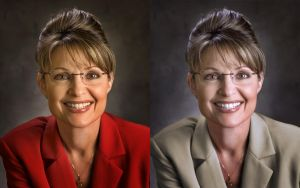Sarah Palin Photo Retouch by Cheriznjalapenoz