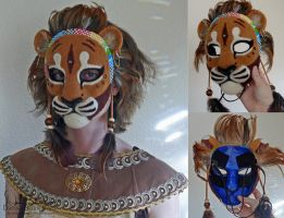 Lion Mask by FamiliarOddlings
