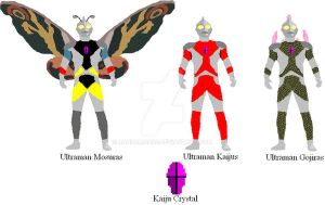 Ultraman Contest Entry: Kaijus by Randoman92