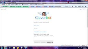 Cleverbot doesn't love me by summerlvralwys