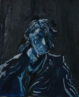 Anakin canvas by Caranth