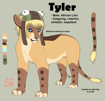 OC Refs: Tyler by CitruShark