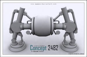 Concept 2482 WIP by Opax