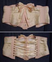 Silk Ribbon Corset - Flat by sidneyeileen