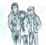 Wintertime trio by Hillary-CW