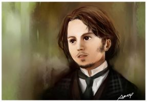 Inspector Fred Abberline by amoykid