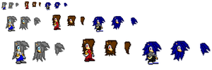 Sonic sprite adoptables (closed) by HurricaneThePegasus8