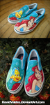 Little Mermaid Shoes by DavidValdez