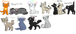 ThunderClan by CaptainLaylie