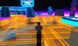 Tron 80's Style Build Second Life image 4 by Maiamimo