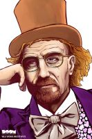 Willy Wonka Walter White by DoomCMYK