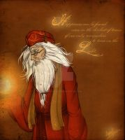 Albus Dumbledore_HAPPINESS by AngieParadiseeker