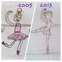 The Dancer~ Then and Now by Turtlegirl5