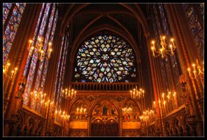 Stained Glass Sainte by AltecApollyon