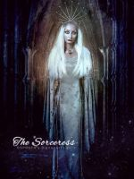 The Sorceress by SPRSPRsDigitalArt