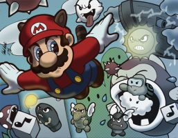 Super Mario Bros 3 by anubis2kx