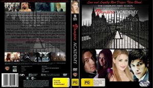 Vampire Academy Dvd Cover by R0SEHATHAWAY
