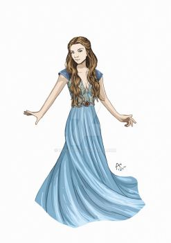 Margaery Tyrell by Fandias