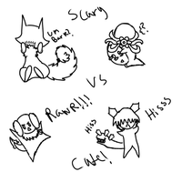 the battle of the cutie title XD by TylerRaveDragon