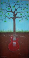 The Guitar Tree by jinxedbyemily