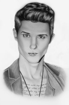 Ryan Follese by Thessa-drawings