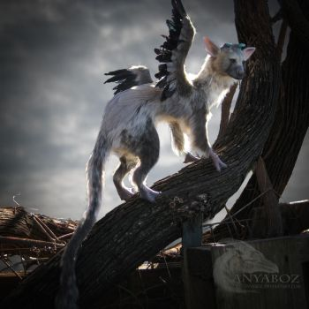 Trico the Last Room Guardian FOR AUCTION by AnyaBoz