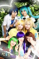 Vocaloid Cosplay by RoezNoah917