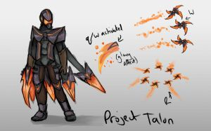 Project Talon skin concept and ablities by Hamzilla15