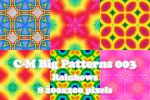 C-M Big Patterns 003 - Rainbow by crowned-meadow