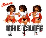 The Cliff  Character Rocsie by Dobbinsart