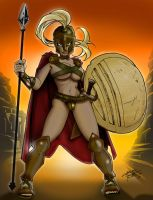 She Spartan by Kid Notorious by Big-SWoD-industries