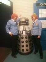 The twin and The Dalek by Baby-Ghost