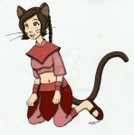 Ty Lee catgirl by cqmorrell
