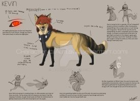 Reference sheet - Kevin (Fox form) by Autlaw