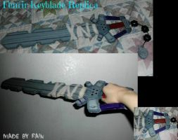 Fenrir Keyblade Replica by TheCoolCosplayer22