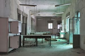abandoned hospital #2.4 by leChatdeChester