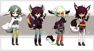 looks like trouble | adopt auction - CLOSED by SoukiAdopts