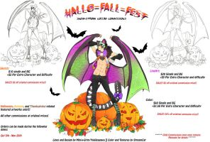 Hallo-Fall-Fest Commissions 2015 by Mini-X-Grim