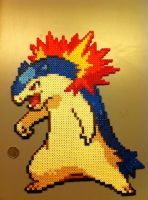 Perler Typlosion by nick3529