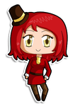 [C] Mini chibi Gina by izka197
