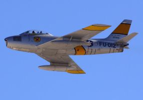 North American F-86F flyby by shelbs2