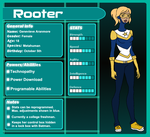 DC: Rooter Profile by KorporalKitty