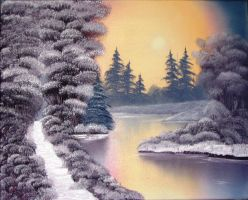Golden Winter by W. Redman by wanred